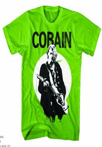 Nirvana - Kurt Cobain Guitar Photo T-Shirt