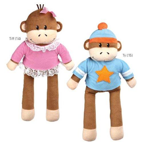 Zanies Monkey Business Friend Ty Pet Squeaker Toy, My Pet Supplies