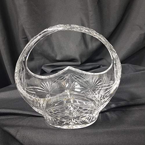 Crystal Basket - Clear Crystal Basket