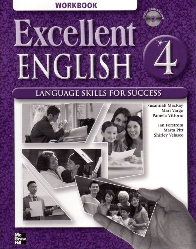 Excellent English 4 Student Book and Workbook Package