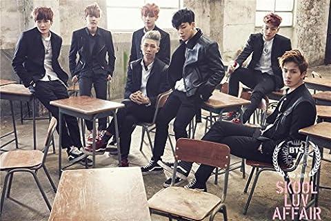 Fanstown BTS bangtan boys Poster A3 size thicken coated paper 28cm x42cm J-hope Rap monster Jin Suga Jung Kook V High (Bts Army)