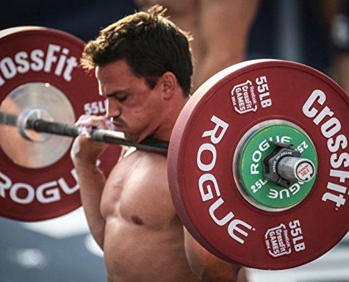 Rogue Fitness | Rogue HQ collares | para Crossfit y levantamiento de pesas mancuernas | 1 par: Amazon.es: Deportes y aire libre