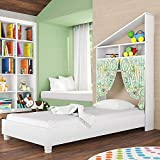 Mini Cama Infantil Montessoriana Branco - Art In Móveis
