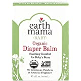 Organic Diaper Balm by Earth Mama | Safe Calendula Cream to Soothe and Protect Sensitive Skin, Non-GMO Project Verified, 2-Fl