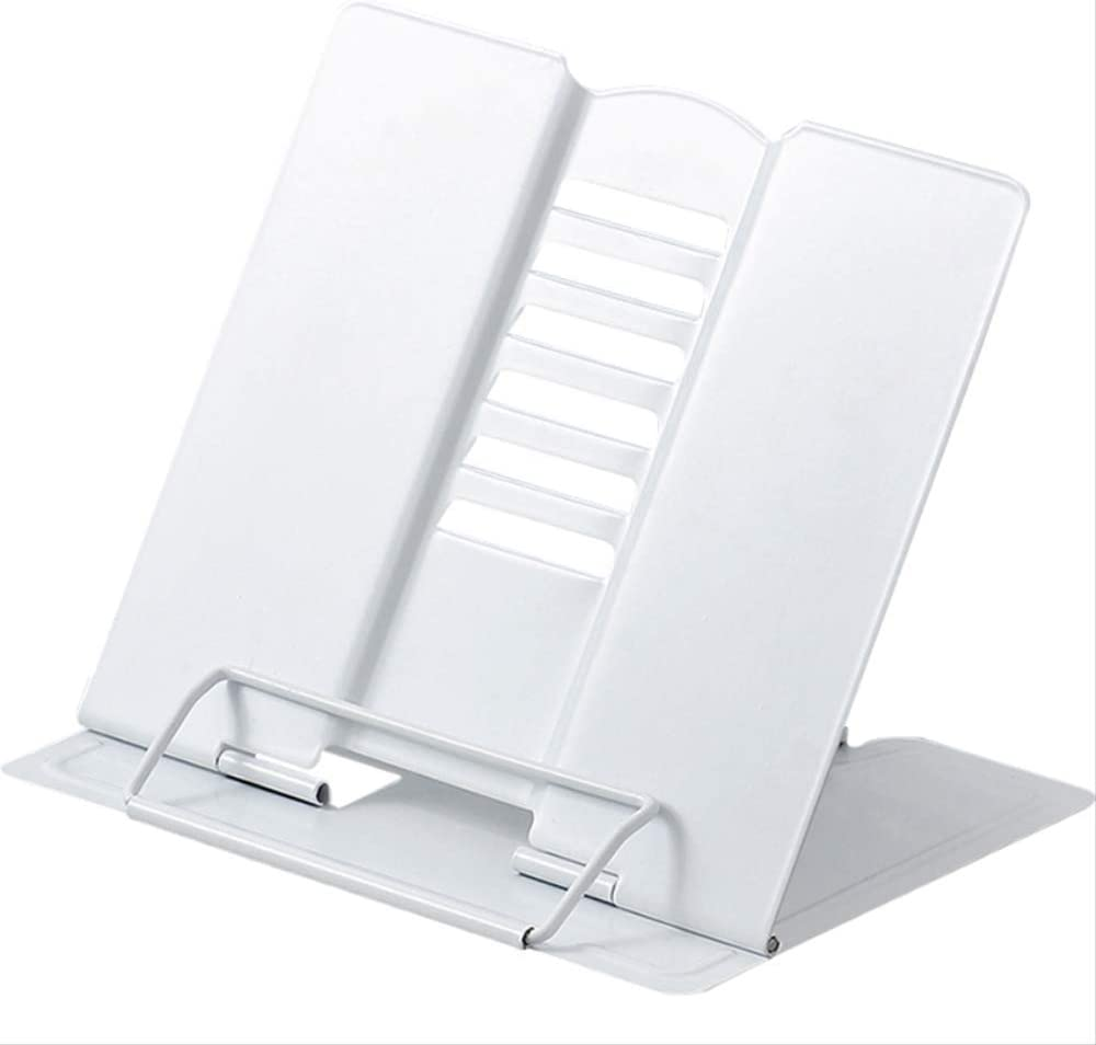 Amazon.com : Reading Stand Metal Book Stand, 37-Gear Adjustable