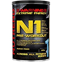 Nutrend N1 Shot 560g Grapefruit Flavor professional Body Stimulant than the instant form of pre-workout promote muscle pumping Beta-alanine, AAKG Taurine Glucuronolactone Guarana Caffeine Choline DMAE