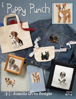 Jeanette Crews Puppy Punch JC-14613