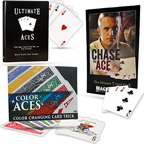 Magic Makers Triple ACE Combo Chase the Ace, Color Aces and Ultimate Aces