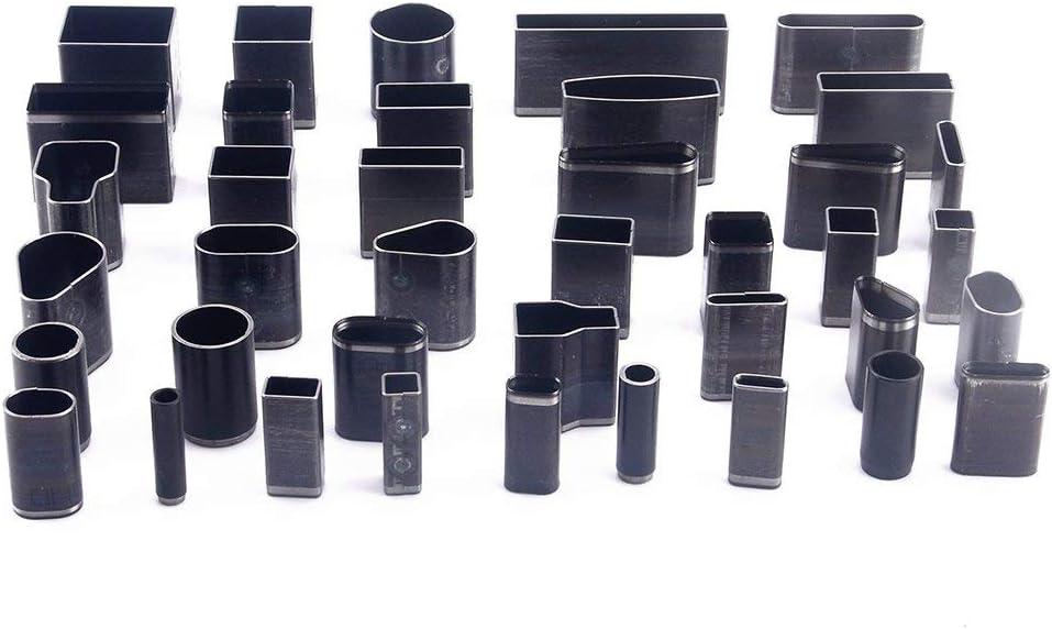 Troqueles para M/óvil Perforadora de cuero Profesional 5mm-30mm Set Herramientas Bricolaje con Agujeros para Cortar Cuero Mano con 39 Tama/ños