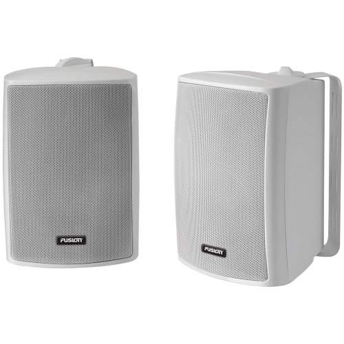 FUSION 4'' Compact Marine Box Speaker - (Pair) White by Fusion
