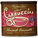 Victorian Inn Instant Cappuccino, Almond Amaretto, 16-Ounce Canisters (Pack of 6)