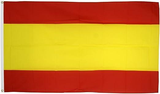 Flaggenfritze - Bandera de España sin escudo + pegatinas, diseño ...