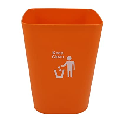 Garbage Cans, Petforu In Home Recycling Bins Wastebaskets Kitchen Office  Waste Bins Without Lid
