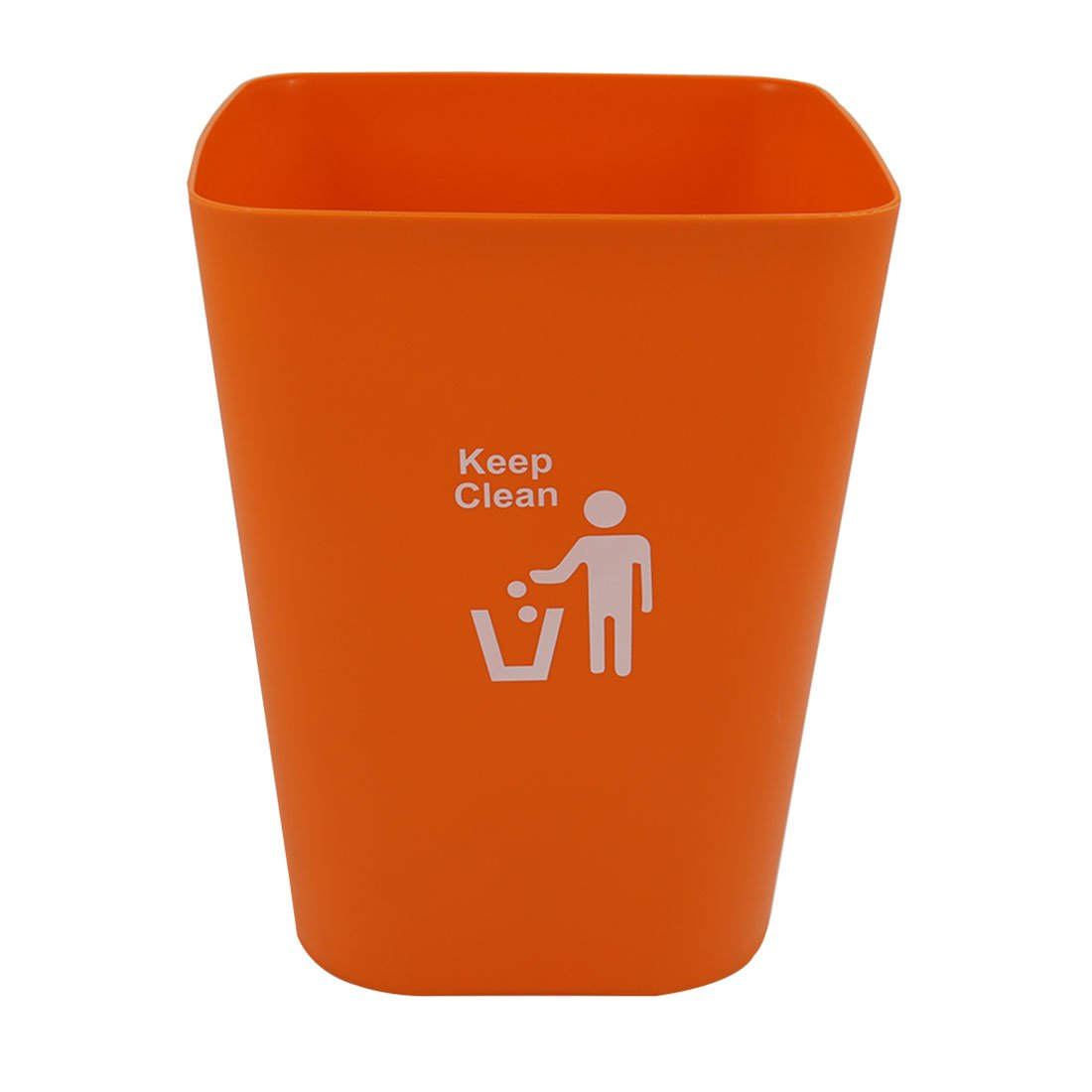 Garbage Cans, Petforu In-Home Recycling Bins Wastebaskets Kitchen Office Waste Bins without Lid - Orange