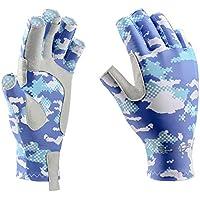 Booms Fishing FG2 Fingerless Gloves Fishing Sun Gloves...