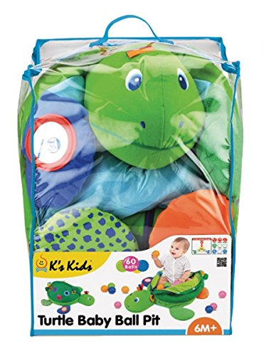K's Kids Centre of Activities with Balls Baby Turtle with Balls and Multiple Activities