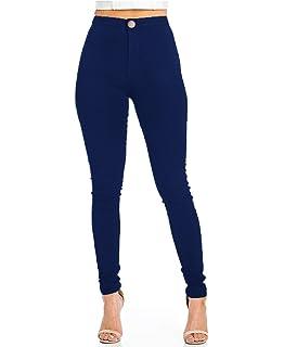 52c8550d52 Pantalon Femme Slim Jeans Grande Taille Haute Stretch Jeggings Skinny Denim  Pantalons du 36 au 44