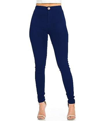 technologies sophistiquées outlet prix officiel Pantalon Femme Slim Jeans Grande Taille Haute Stretch Jeggings Skinny Denim  Pantalons du 36 au 44