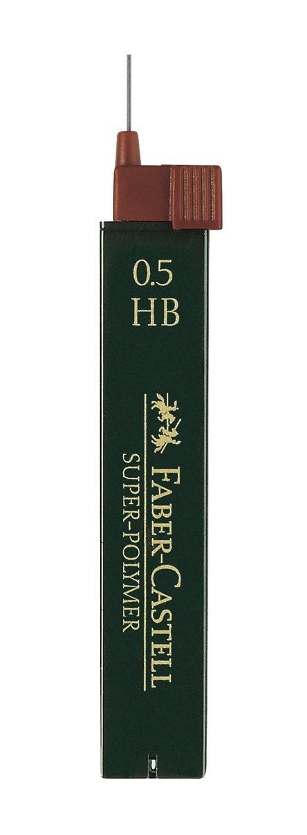 Faber-Castell 12 Minas (1 Tubo) 0.5mm HB