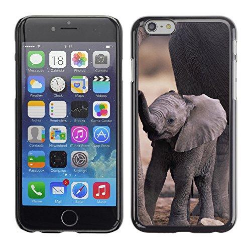 """Premio Sottile Slim Cassa Custodia Case Cover Shell // V00003188 bébé éléphant mignon // Apple iPhone 6 6S 6G 4.7"""""""
