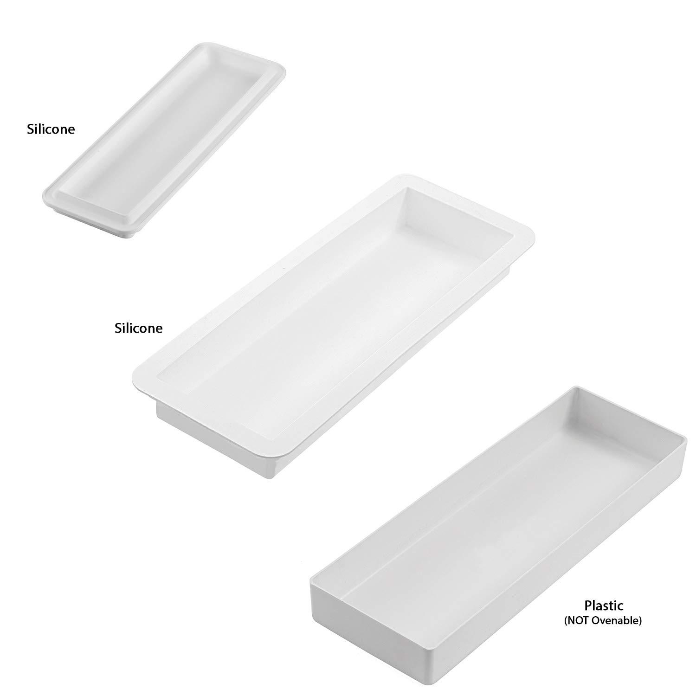 Silikomart Kit Dolce Sogno 1500: 2 Silicone Molds and 1 Plastic Supporter by Silikomart (Image #2)