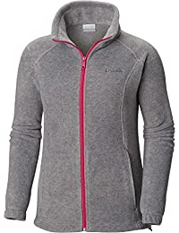 Womens Benton Springs Full Zip Jacket, Soft Fleece with Classic Fit