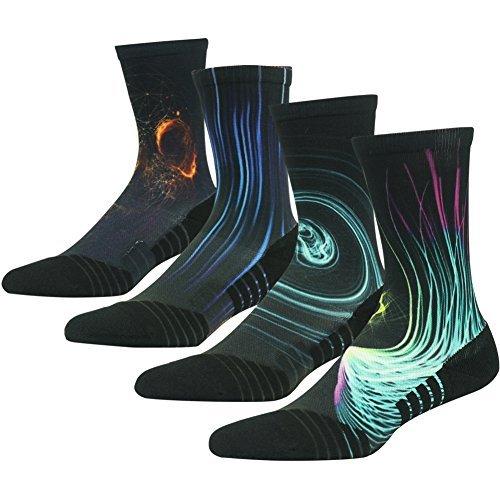 Men's Socks Capable New 3d Printed Poker Card Crew Socks Men Crazy Funny Novelty Pattern Footwear Long Socks Casual Code Game Music Tube Socks Lustrous Surface