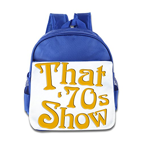 Customized That '70s Show Logo Cool Kid's Backpack Travel Backpack RoyalBlue