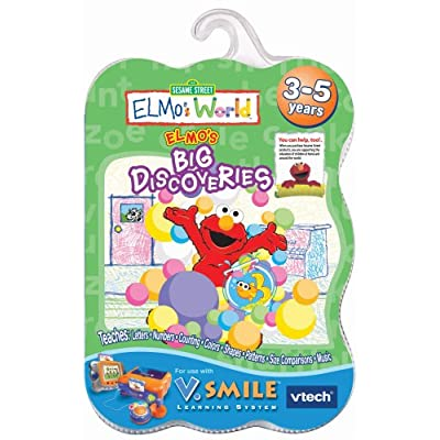V.Smile Smartridge: Elmo's World - Elmo's Big Discoveries: Toys & Games