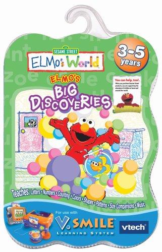 V.Smile Smartridge: Elmo's World - Elmo's Big Discoveries by VTech