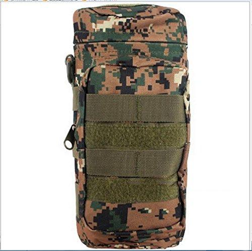BUSL bolso del alpinismo al aire libre bolsillos utilitarios deportivos capacidad de aislamiento hervidor de botella del paquete de viaje a caballo . d e