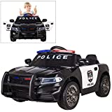 Modern-Depo Police Pursuit 12V Electric Ride On Car for Kids with 2.4G Remote