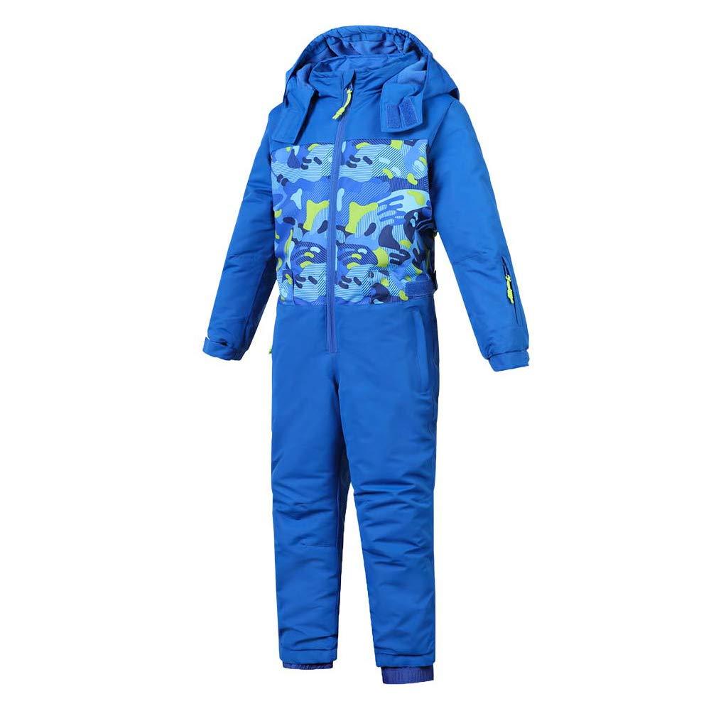 Liyuke Girls and Boys One Piece Ski Suit,Outdoor Siamese Snowboard Suit