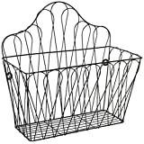Trademark Innovations MAGRACK-METAL Wall Mounted Metal Magazine and Storage Rack