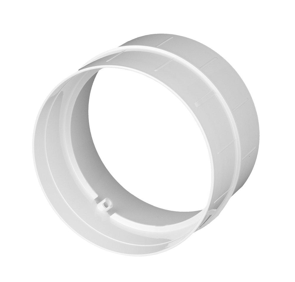 Raccord pour tuyau de ventilation Awenta, pour tube rond, en ABS, Ø 125mm Ø 125mm Kolor