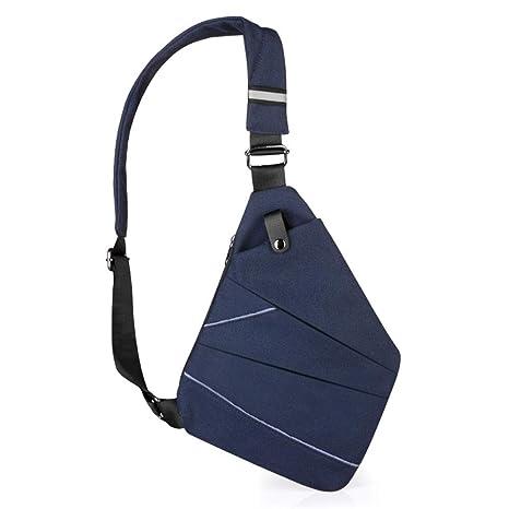 4169ece0ffe9 Amazon.com: LJL Trendy Style Lightweight Waterproof Men's Chest Bag ...