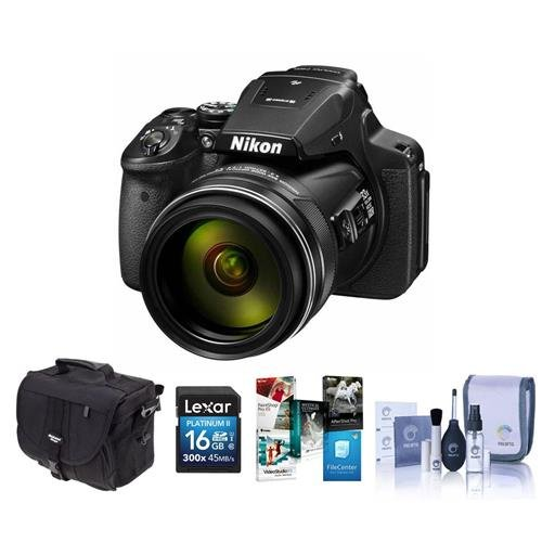 Nikon-COOLPIX-P900-Digital-Camera-83x-Optical-Zoom-Bundle-with-Camera-Bag-16GB-Class-10-SDHC-Card-Cleaning-Kit-Software-Package