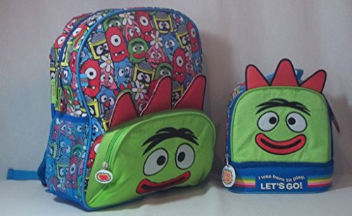 Yo Gabba Gabba! Backpack and Lunch Kit (2 Piece Set) (Yo Gabba Gabba Play Tent)