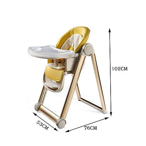 Amazon.com: ZXQZ Silla alta para bebé, silla de comedor para ...