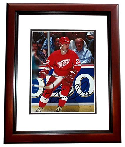 1a9533f02 Image Unavailable. Image not available for. Color  Dino Ciccarelli Signed - Autographed  Detroit Red Wings ...