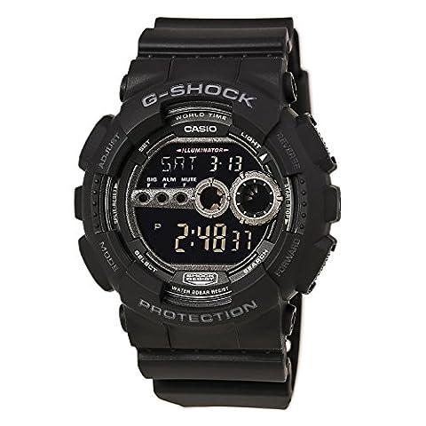 Casio G-Shock GD-100-1B Watch (G Shocks X Large)
