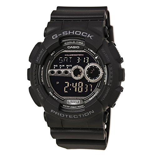 Casio Men's GD100-1BCR G-Shock X-Large Black Multi-Functional Digital Sport - G X Watch Shock Casio Large