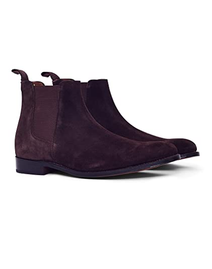 ae8ffbc10c4 Grenson Declan Suede Chelsea Boot Brown: Amazon.co.uk: Shoes & Bags
