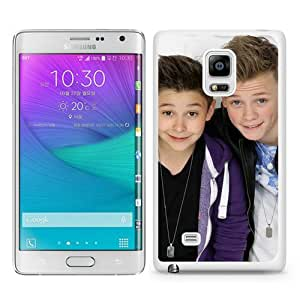 Newest Samsung Galaxy Note Edge Case ,Bars and Melody White Samsung Galaxy Note Edge Screen Phone Case Popular Fashion And Durable Designed