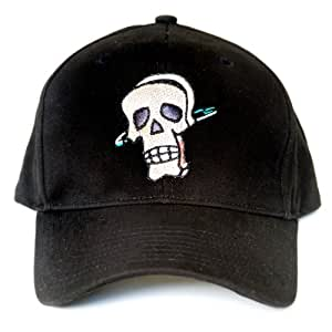 Skull LED Light-Up Logo Adjustable Hat