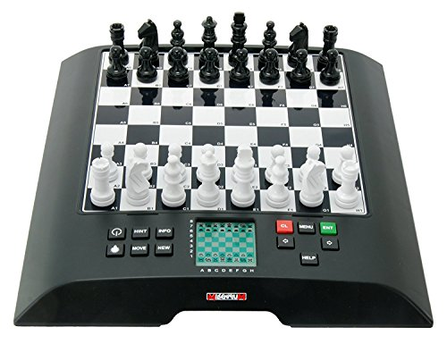 Millennium Model M810 ChessGenius Large Chess Computer Black 1