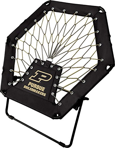 Imperial Officially Licensed NCAA Furniture: Basic Bungee Chair, Purdue Boilermakers - Ncaa Furniture
