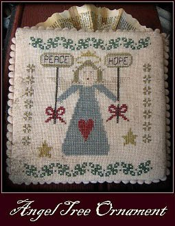 Angel Cross Stitch Chart - 6