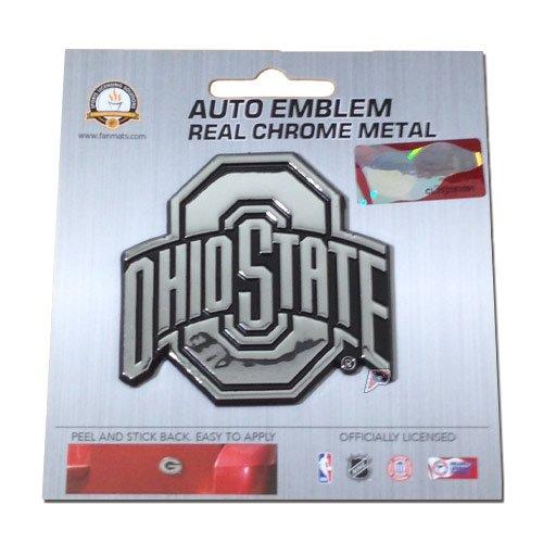 ohio state chrome car emblem - 7