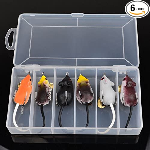 5CM Soft Plastic Fishing Lures Frog Lure Top water Lure High Carbon Steel Hook
